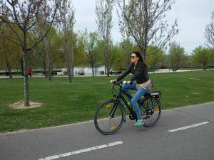 Ruta por Zaragoza en bicicleta eléctrica