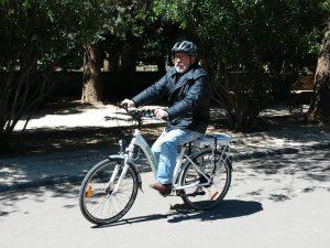Ruta por el Parque Grande en bicicleta eléctrica
