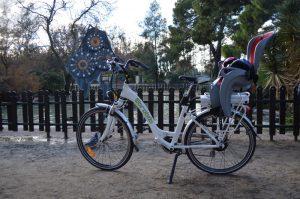Bicicletas eléctricas en el Parque Grande