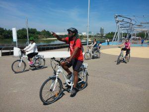 Ruta por Zaragoza en bicicleta de pedaleo asistido
