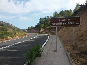 Duro y exigente Puerto de Arenillas
