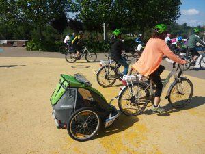 Remolque bicicleta Croozer para niños