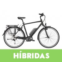 Venta de bicicletas eléctricas híbridas