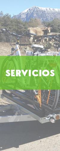 Servicios para bicicletas eléctricas