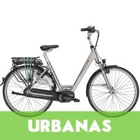 Venta de bicicletas eléctricas urbanas